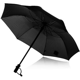 EuroSchirm teleScope handsfree Umbrella, black